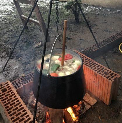 Supă de pește ca la Szeged